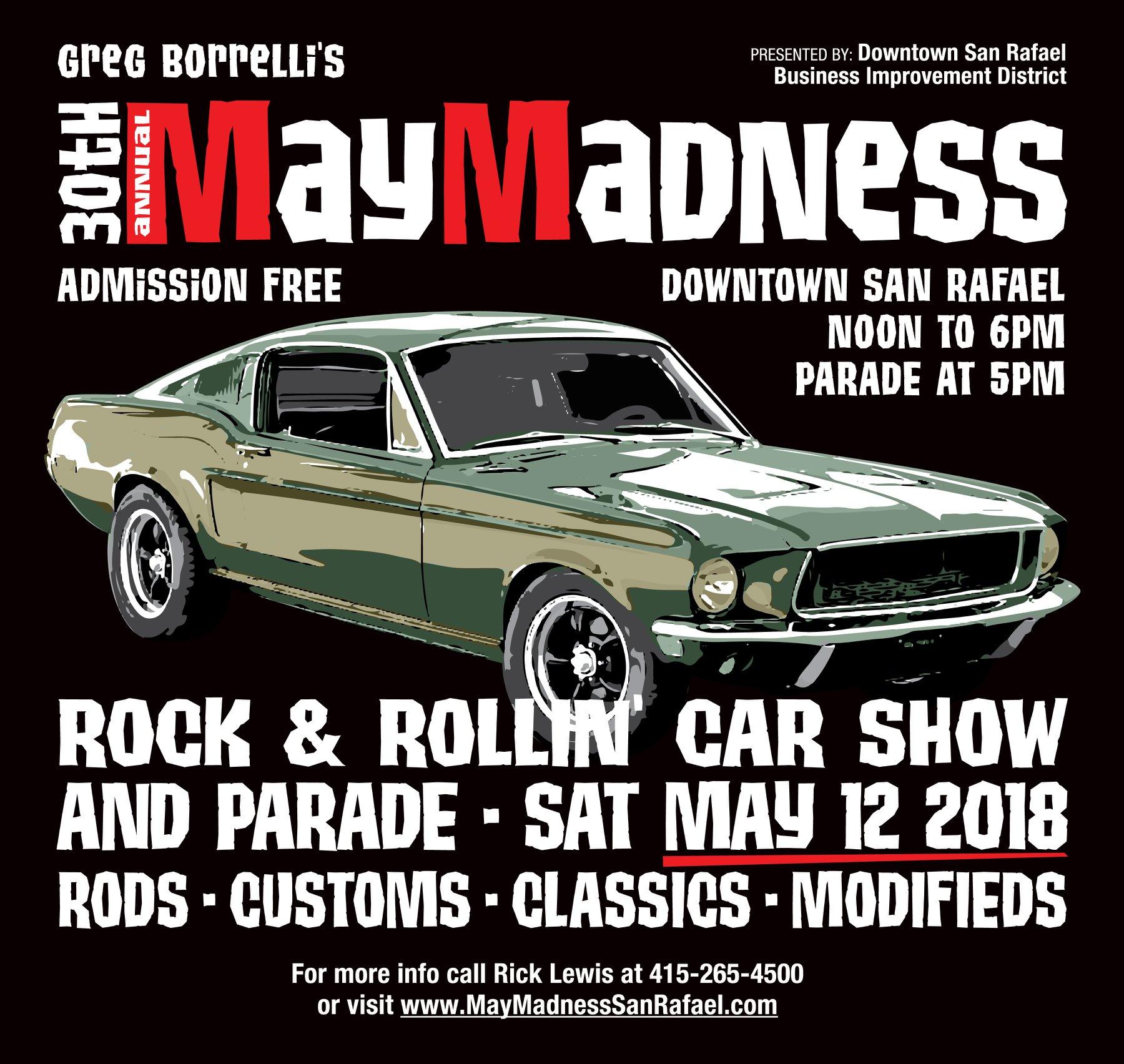 2018 May Madness San Rafael